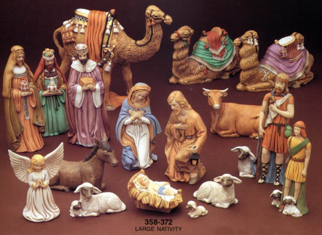 traditional nativity