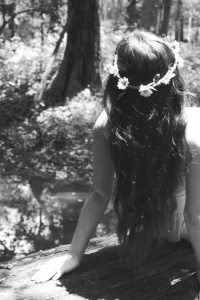 flower in my hair
