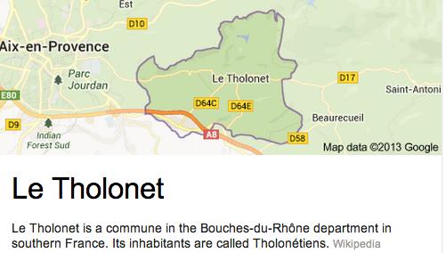 the Tholonet