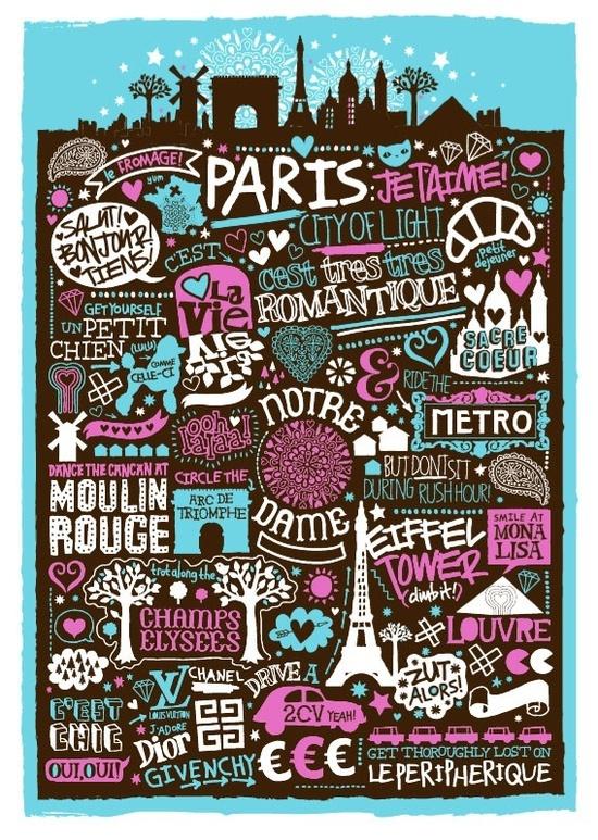 Paris - des mots