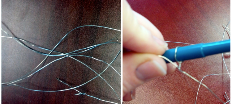 Wire and a Pen