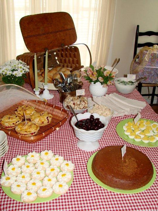 the dessert spread