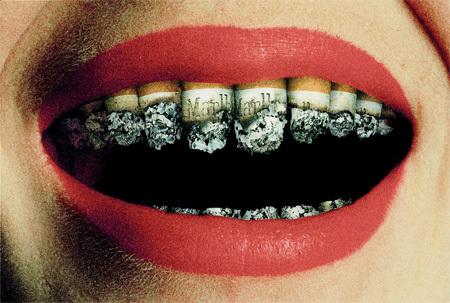gross, smoking