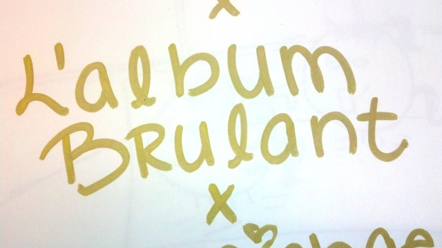 l'album brulant cover