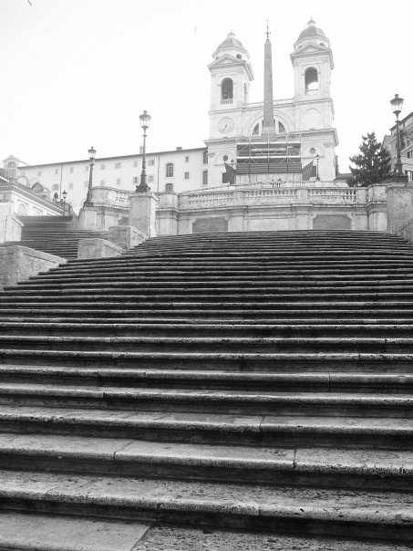 Spanish Steps - Empty for Once