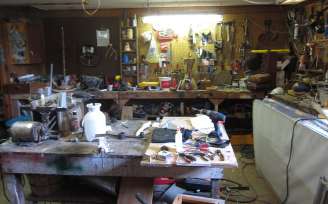 Dad's Workbench