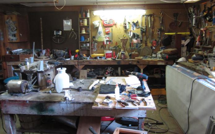 Dad's Workbench
