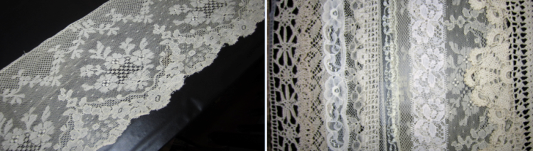 Laying it out. . . Lace