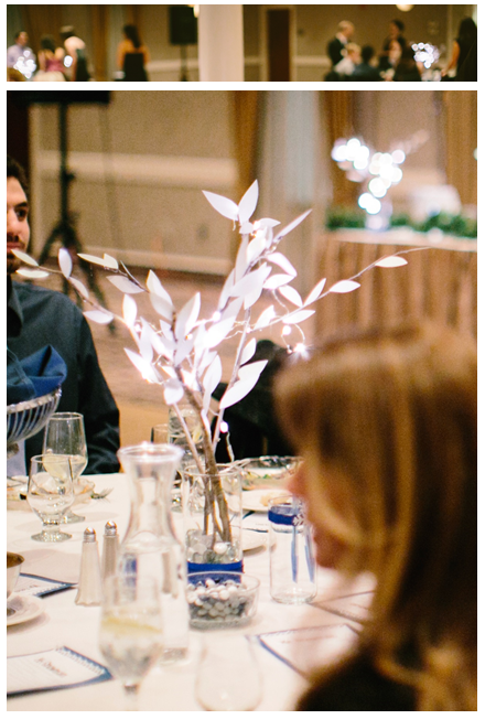 centerpieces and tabletops