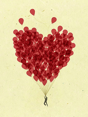 love is a balloon