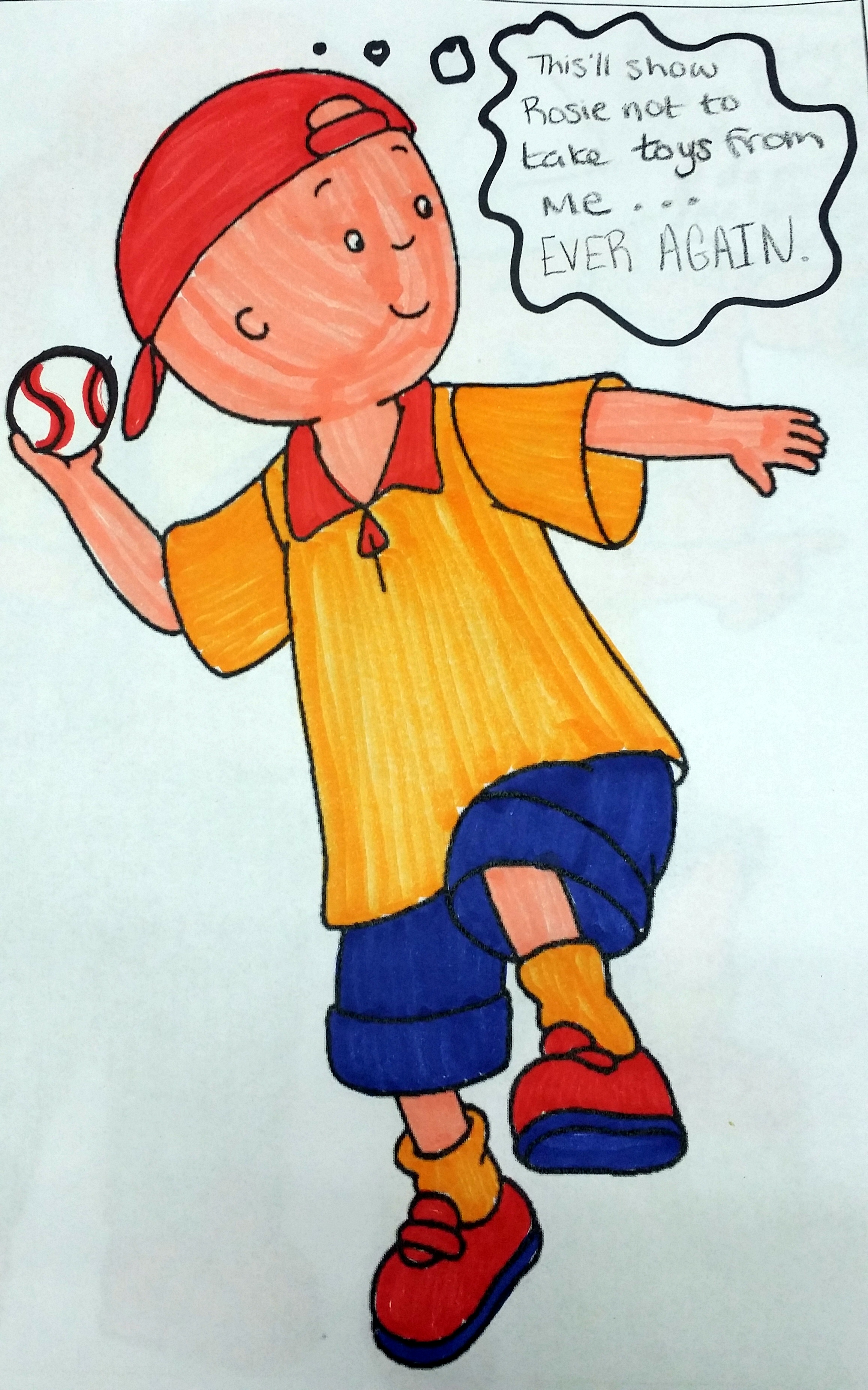 foto de i hate caillou Cakey Hankerson: Great Adventures