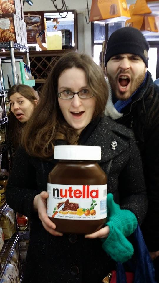 nutella and I