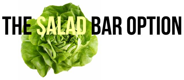 salad bar option