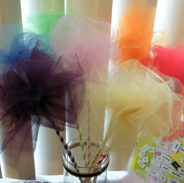 tulle puffs!!!