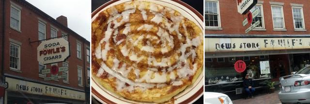 17 Street Diner Cinnabun Pancake