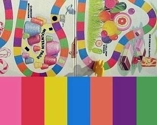 Candyland Color Palette