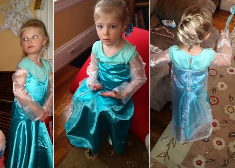 Bizz's Dress - frozen party