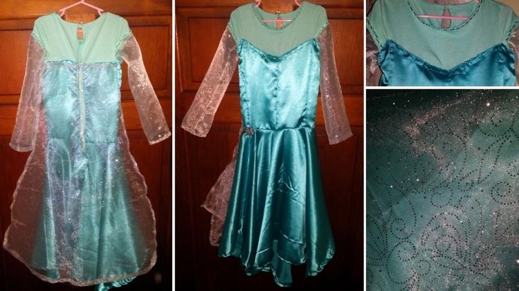 Frozen Dress - Details