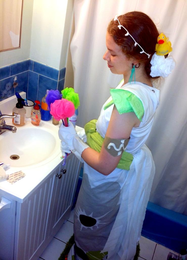 bathroom dress