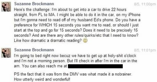 brockmann message