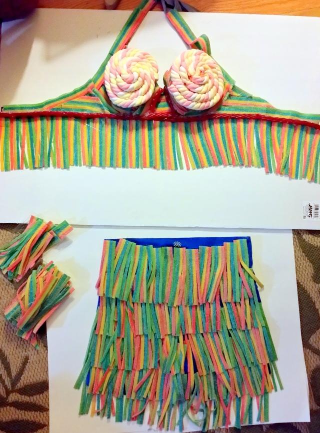 candy suit