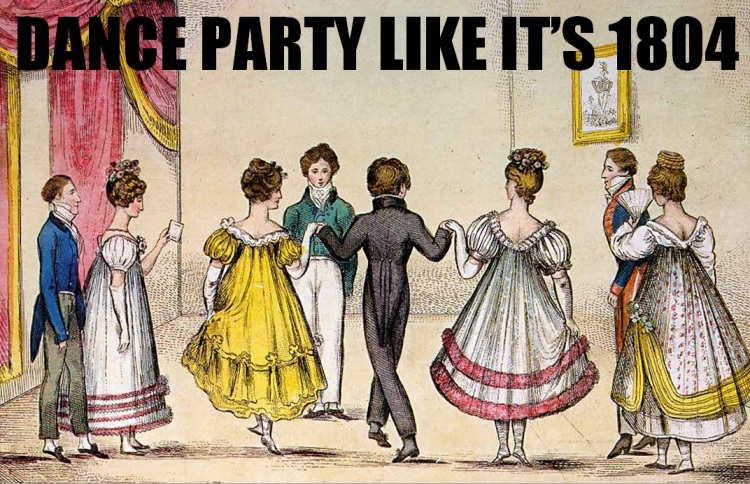 dance like austen meme